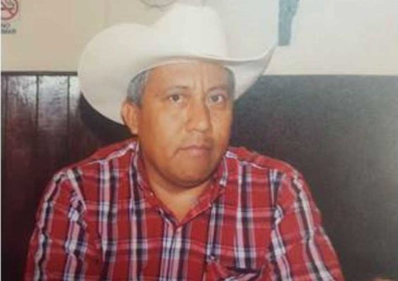 Farmworkers leader Ixpango: killed after calling for formation of self-defense forces.