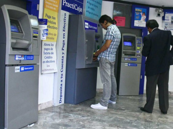 Bank machines are a rarity in many municipalities.