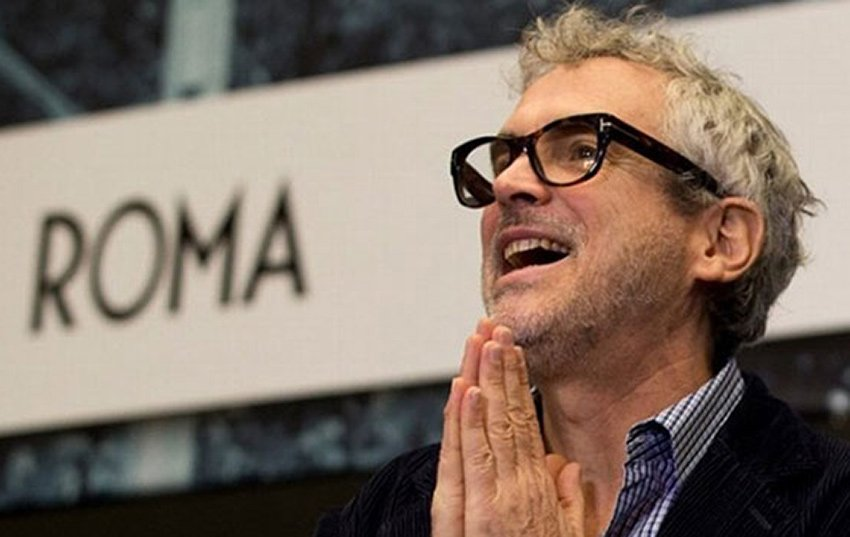 Roma director Cuarón.