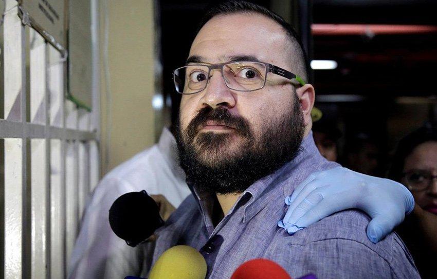 Ex-governor Duarte: pleads guilty.