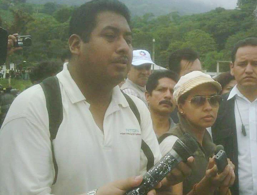 Chiapas journalist Mario Gómez.