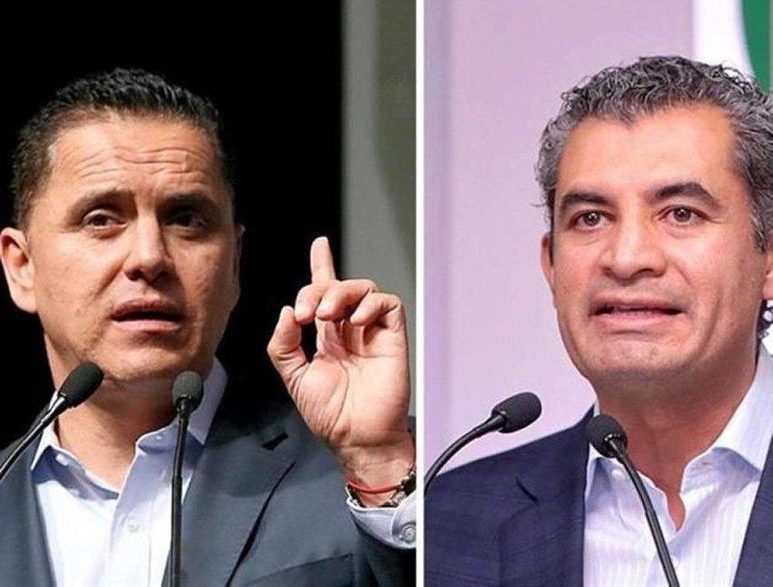 Sandoval, left, and Ochoa: barrio brawl?