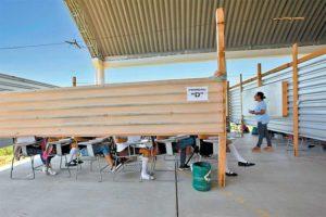 Outdoor education in Oaxaca.