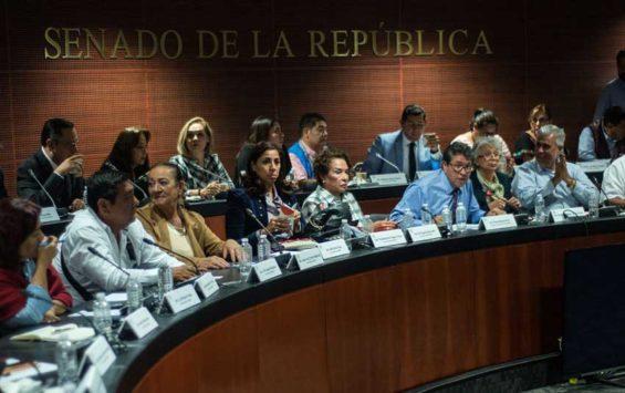 Morena party senators introduced spending cuts.