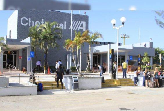 The airport at Chetumal, Quintana Roo