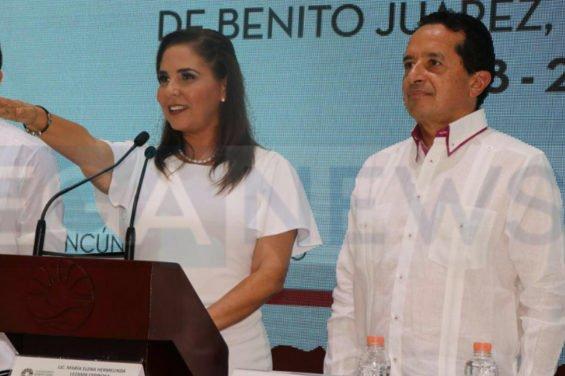 The new mayor of Benito Juárez, Quintana Roo.