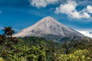 The Colima Volcano is another attraction.