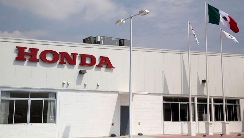 Honda's Celaya plant.
