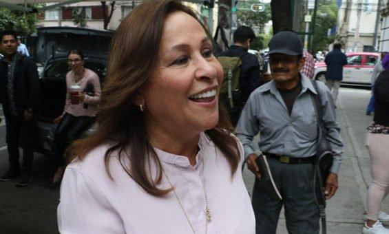The new energy secretary, Rocío Nahle.