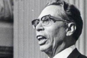 Former president Díaz Ordaz.