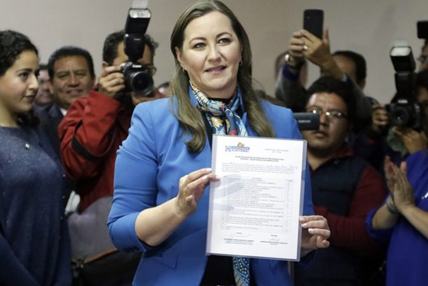 Alonso, confirmed as governor of Puebla.