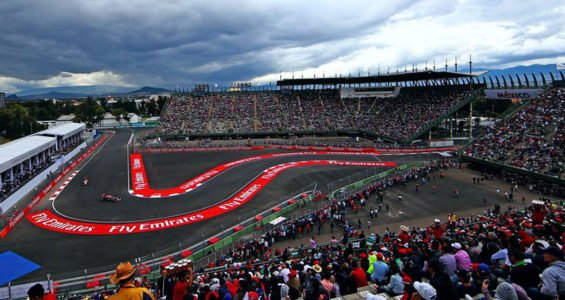 The Autódromo Hermanos Rodríguez in Mexico City, site of this weekend's Grand Prix.