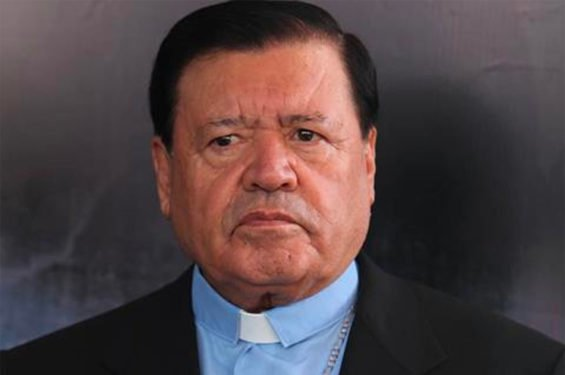 Former archbishop Rivera.