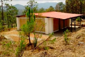 This house in Oaxaca's Mixe region was the first to be built with mezcal-making waste.