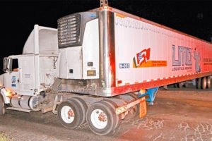 One of the Jalisco 'death trailers.'