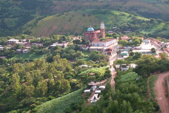 San Miguel Amatitlán, where the mayor is in hot water.
