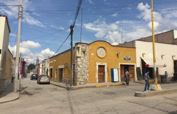 Asientos, where Zacatecas police were ambushed.