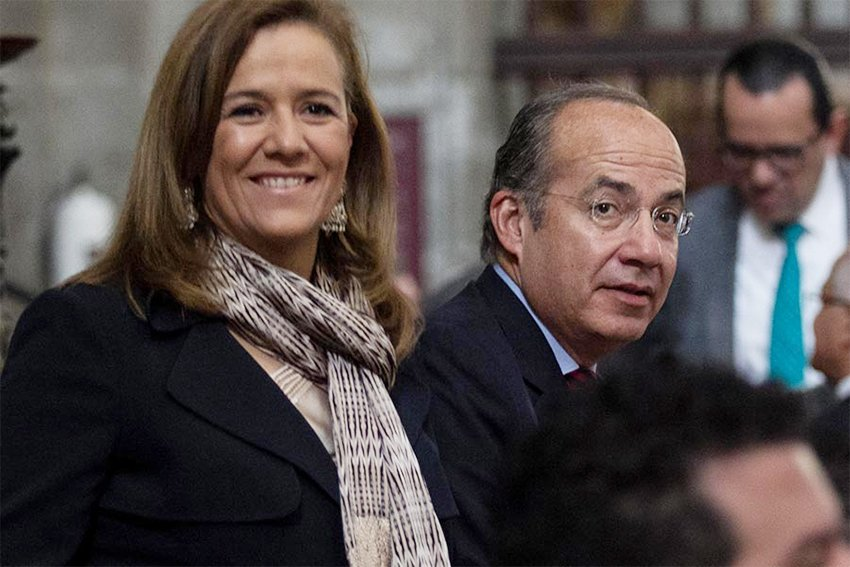 Zavala and Calderón will launch new political party next year.