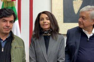 Ramírez, Velasco and López Obrador announce new moral constitution.