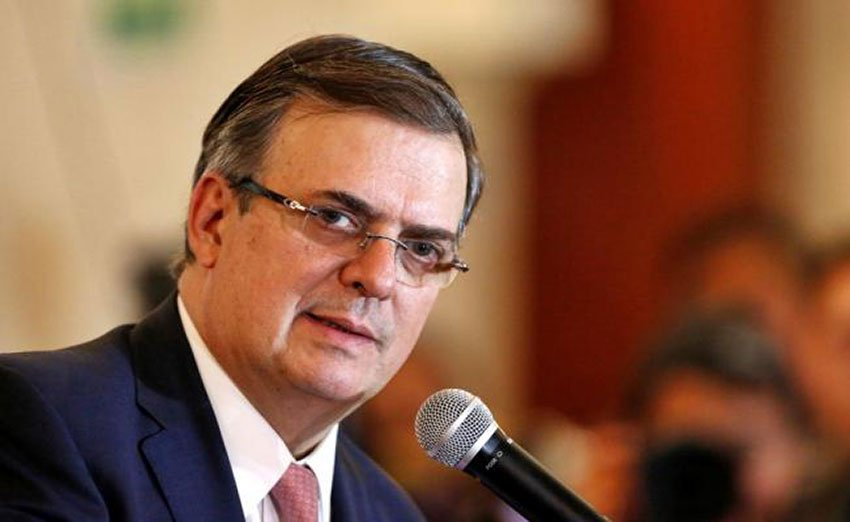 Ebrard: a Marshall Plan effort is required.