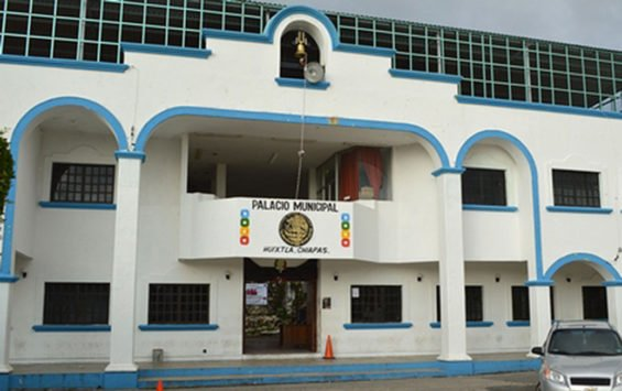 Municipal headquarters in Huixtla.