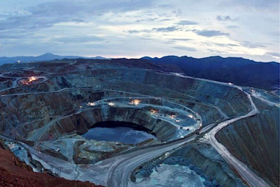 A mine operated by Grupo México, the country's largest mining company.