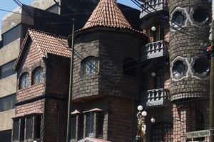 Colonia Narvarte has its own castle located on Enrique Rebsamen street.