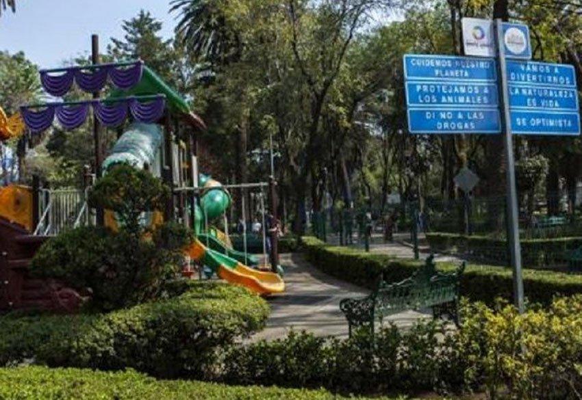 Narvarte's Las Americas park.