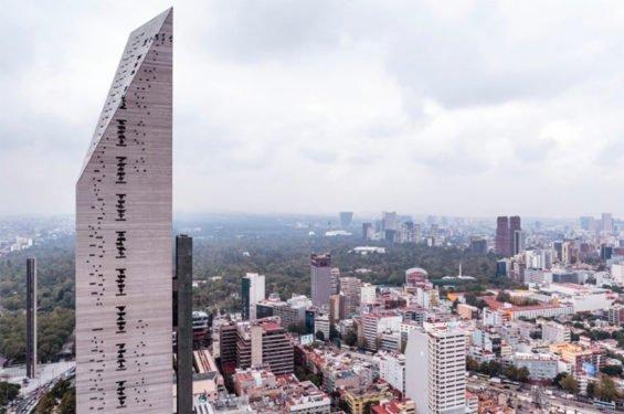 Torre Reforma, innovative highrise.