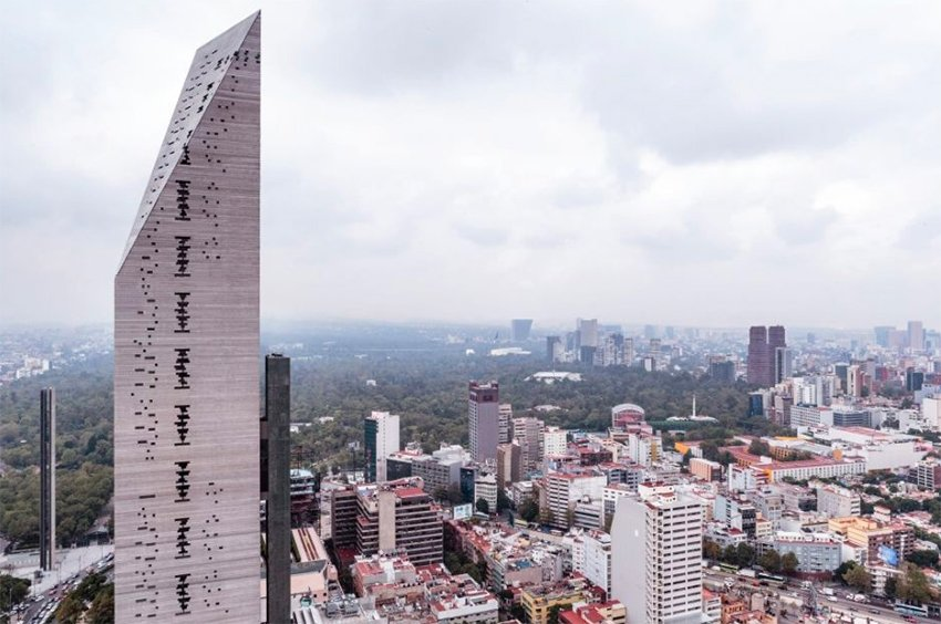 Torre Reforma, innovative highrise.