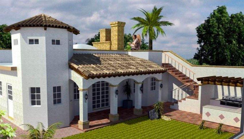 A home for sale in Plaza del Mar, Rosarito.