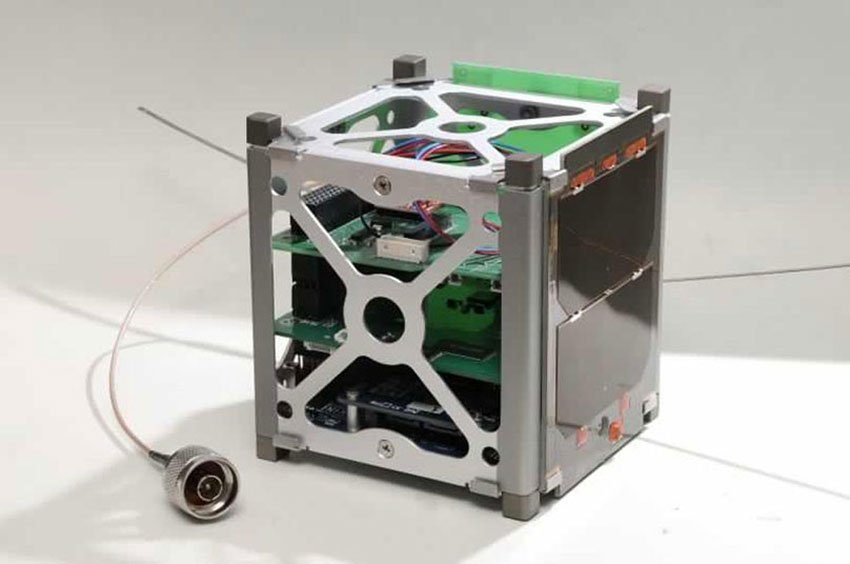 The nanosatellite that will be launched late next year.