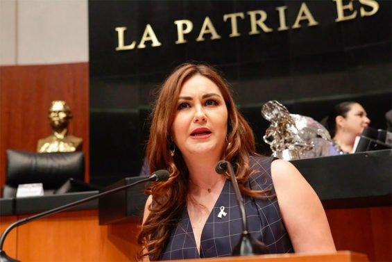 Senator Bañuelos urges calm.