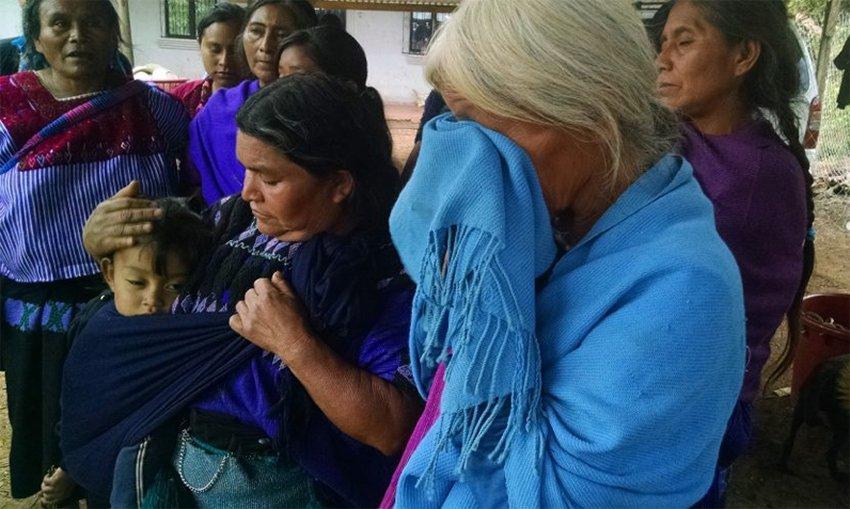 Displaced Tzotzil indigenous people in Chiapas.