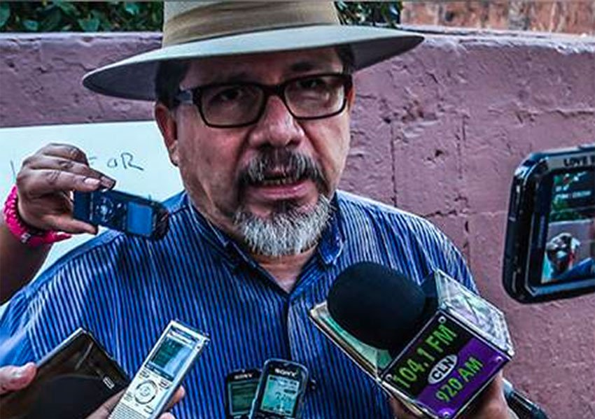 Journalist Javier Valdez, murdered in 2017.