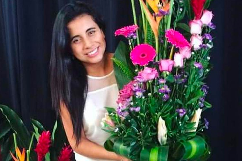 Valeria Medel was shot and killed in a gym in Veracruz.