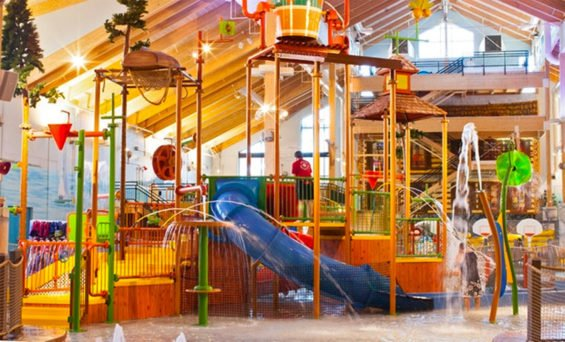 A Great Wolf Lodge water park in the US.