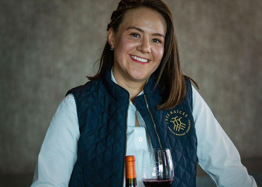 Winemaker Alejandra Cordero.