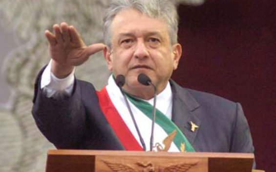 López Obrador takes the oath of office Saturday.