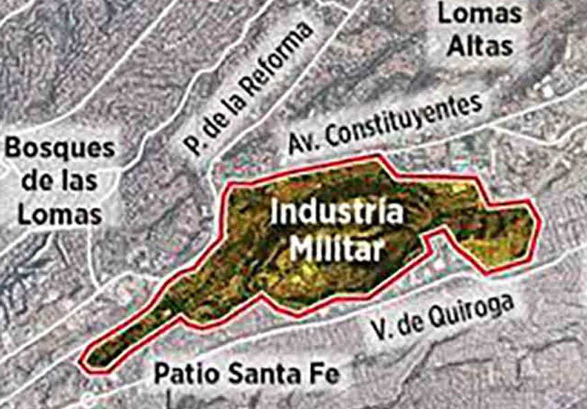 The military site where luxury apartments would be built to fund the National Guard.