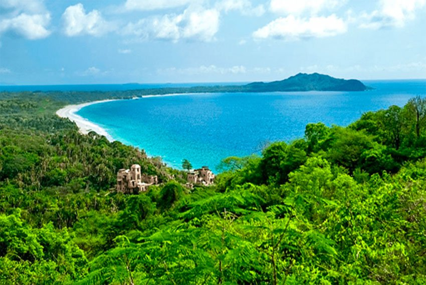 The Nayarit coastline where Costa Canuva is being developed.