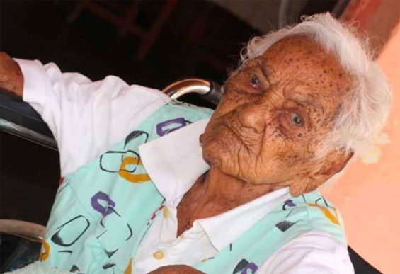 Antonia Valderrama is believed to be Mexico's oldest person.