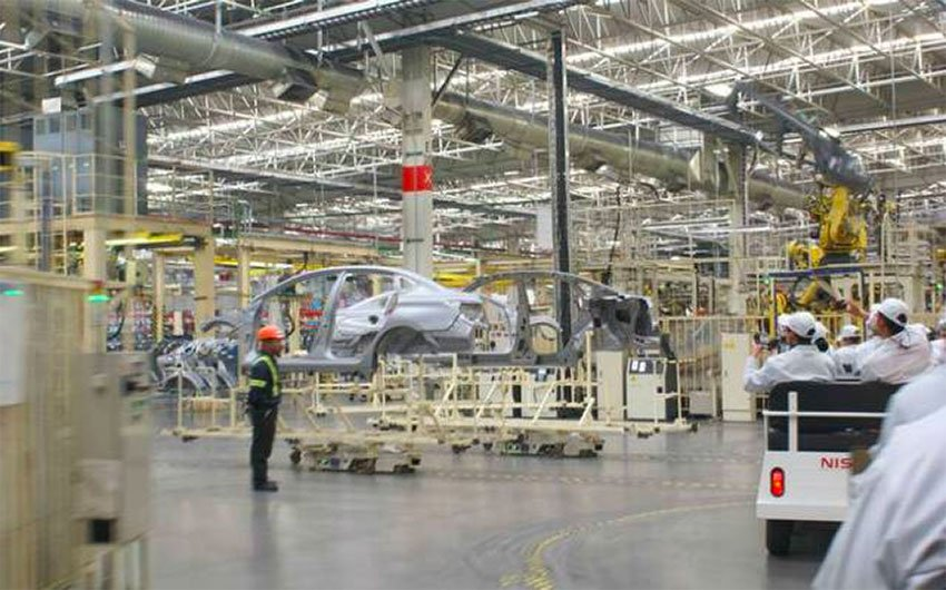 Jobs will be lost at Nissan's plants in Aguascalientes and Morelos.
