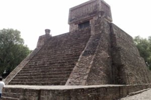 The pyramid at Santa Cecilia Acatitlán