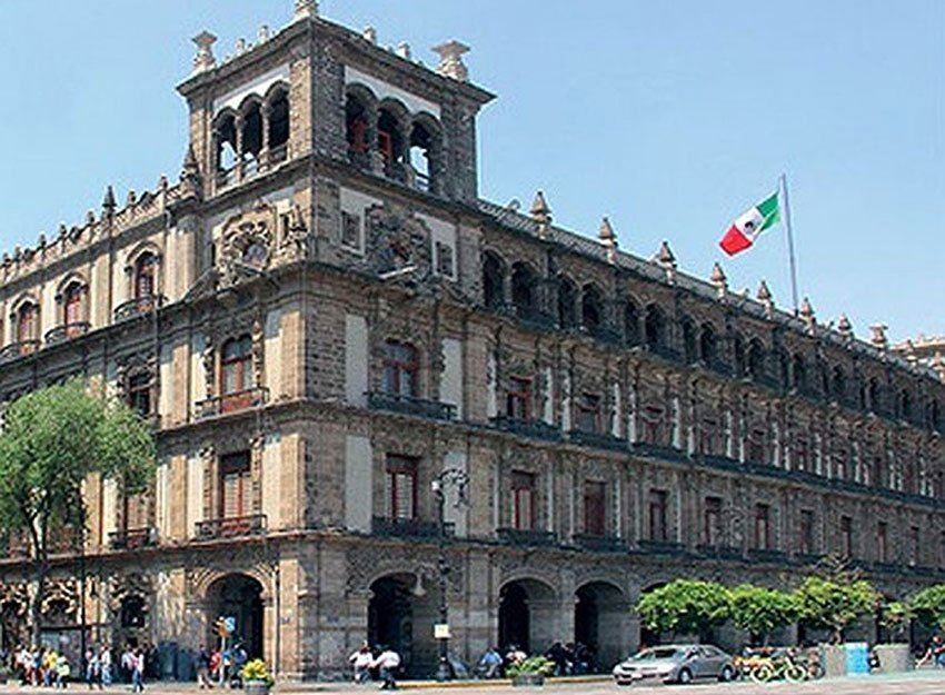 Mexico City's original town hall.