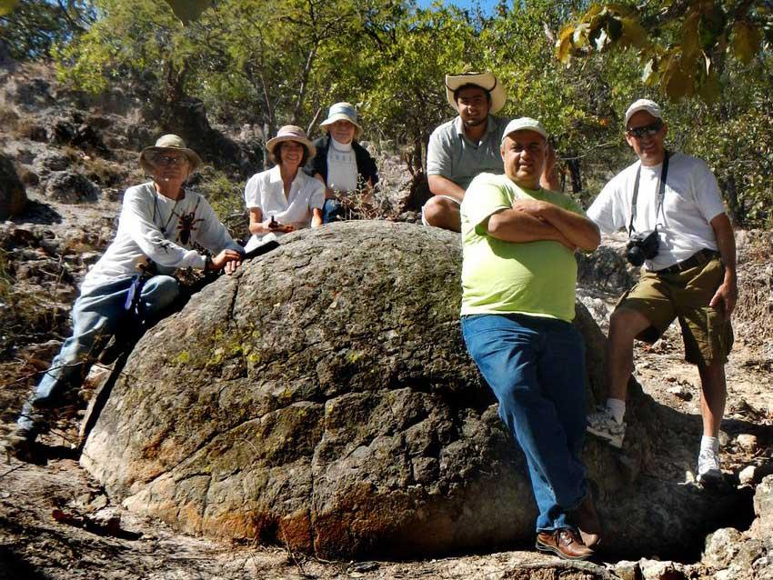 Biggest Piedra Bola measured by author was 2.9 meters in diameter.