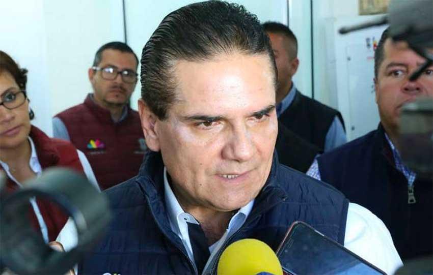 Michoacán Governor Aureoles.