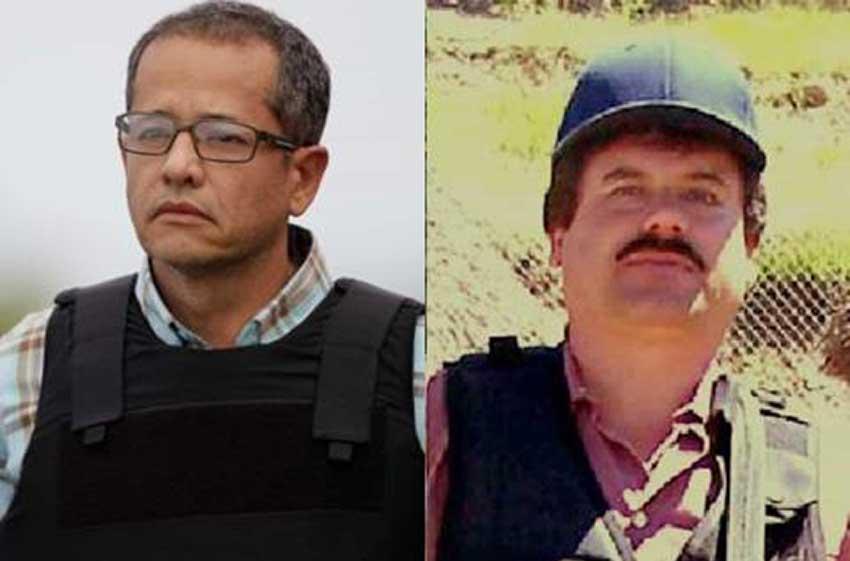 Cifuentes, left, and Guzmán.