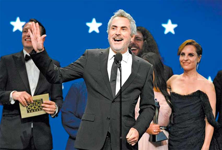Cuaron recebe prêmio no Critics' Choice Movie Awards