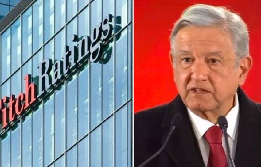 Fitch downgrade gets a reaction from AMLO.